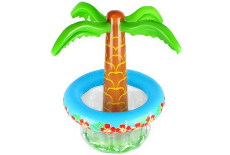 Palmboom bier- en wijnkoeler | Opblaas palmboom voor tuin of terras!