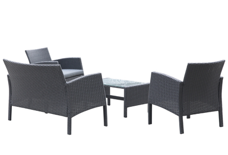 Vico loungeset van Intimo | Luxe tuinmeubels voor tuin, balkon of terras