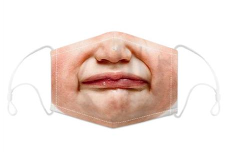 Wasbare mondkapjes en PM2.5 filters Mondkapje #4 + 12 filters
