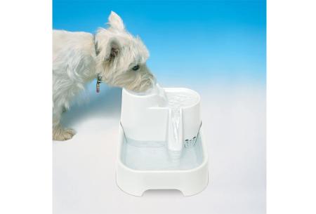Drinkfontein | Handige waterbak met filter voor honden en katten