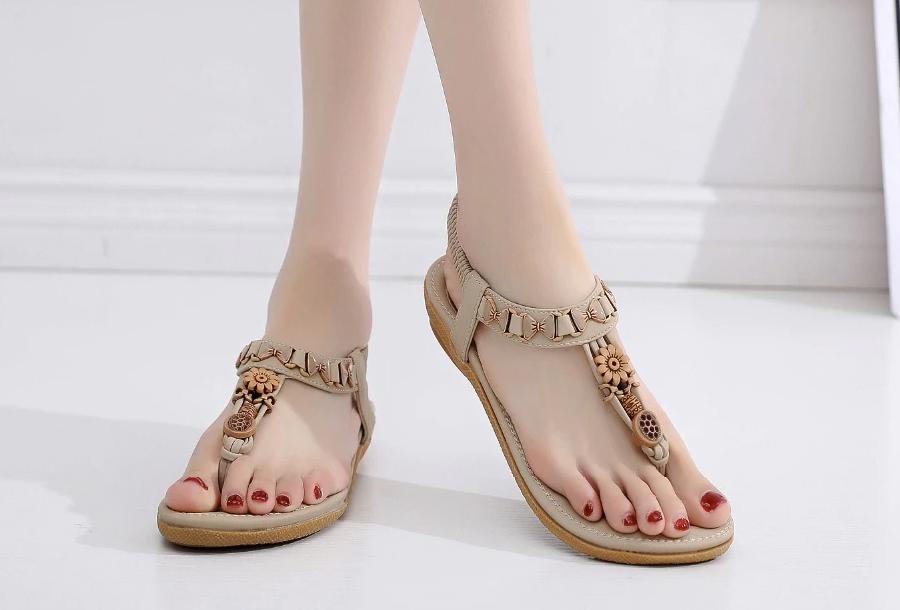 Dames sandalen Maat 41 - Model C - Beige