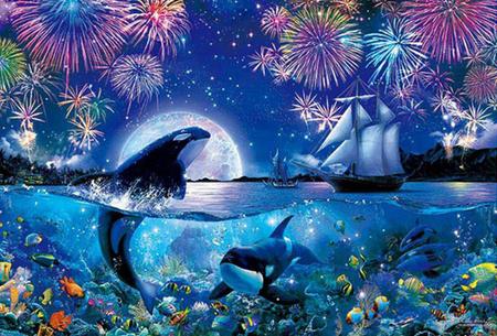Diamond painting dolfijnen   Adembenemende schilderijen om zelf te maken!  #9