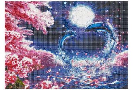Diamond painting dolfijnen   Adembenemende schilderijen om zelf te maken!