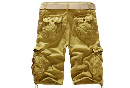 Korte broek voor heren | Stoere cargo broek in 8 kleuren