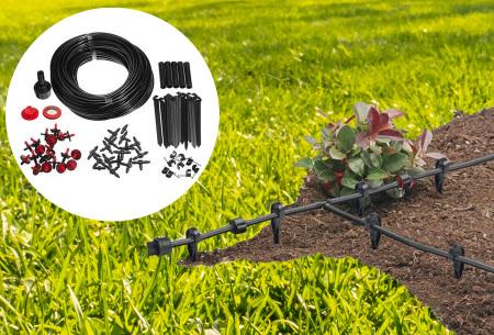 Irrigatiesysteem van Green Arrow | Compleet 71-delig bewateringssysteem voor in de tuin