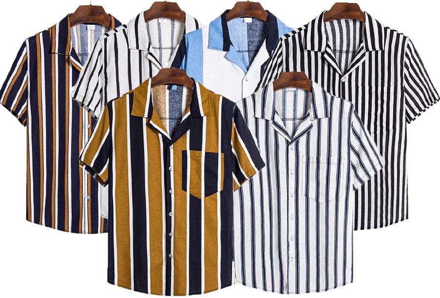 Overhemd met korte mouw voor heren