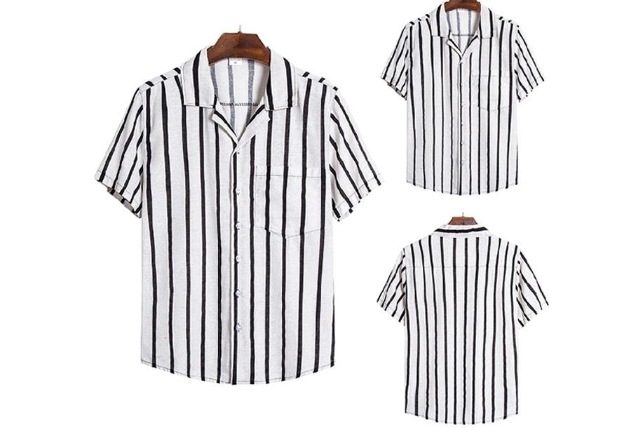 Heren overhemd - Maat XS - D