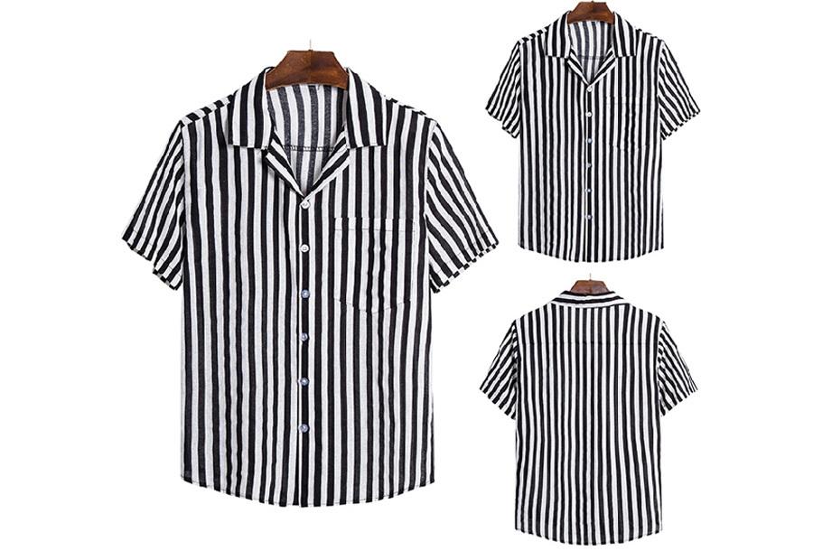 Heren overhemd - Maat S - E