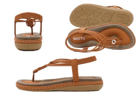 Stijlvolle teenslippers | Comfortabele slippers met handig hielbandje