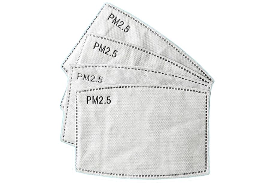 Wasbare mondkapjes en PM2.5 filters 10x PM2.5 filters