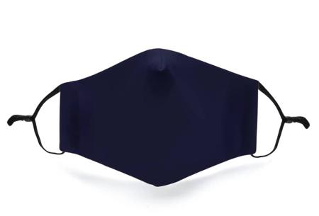 Wasbare mondkapjes en PM2.5 filters van Mondkap Monkeys | Niet-medische mondmaskers voor kinderen en volwassenen Marine blauw