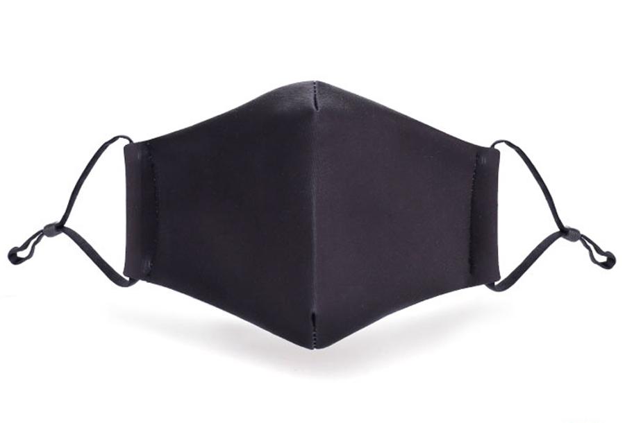 Wasbare mondkapjes en PM2.5 filters Zwart + PM2.5 filter