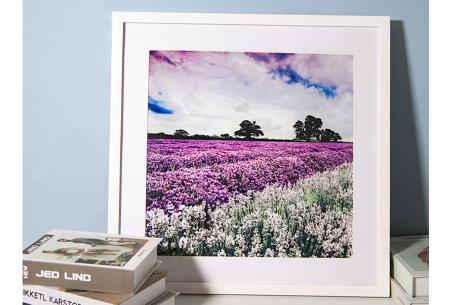 Houten fotolijst | Ideale lijst voor al je Diamond paintings, foto's of schilderijen Wit