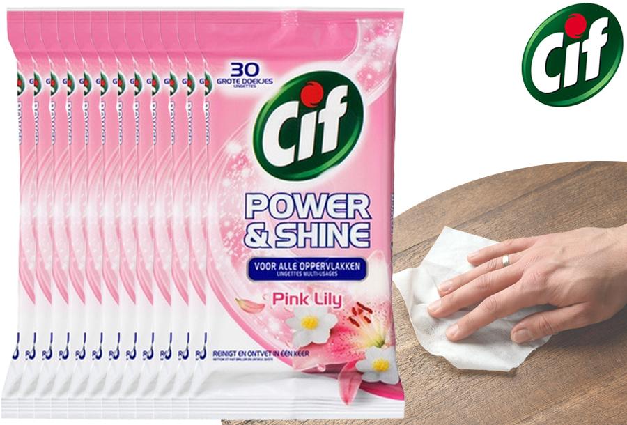Goedkope Cif schoonmaakdoekjes