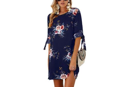 Luchtig tuniek | Perfecte zomerjurk voor dames met hippe bloemen- en panterprint #6