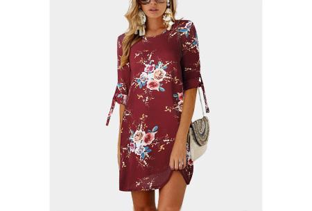 Luchtig tuniek | Perfecte zomerjurk voor dames met hippe bloemen- en panterprint #9