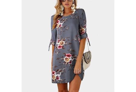 Luchtig tuniek | Perfecte zomerjurk voor dames met hippe bloemen- en panterprint #2