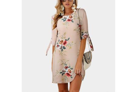 Luchtig tuniek | Perfecte zomerjurk voor dames met hippe bloemen- en panterprint #3
