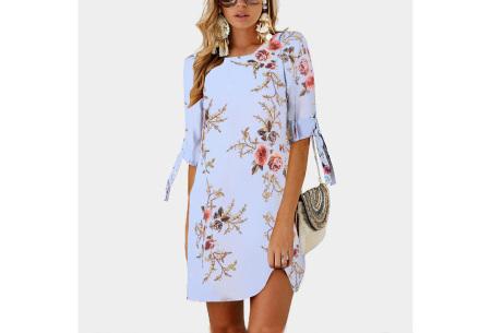 Luchtig tuniek | Perfecte zomerjurk voor dames met hippe bloemen- en panterprint #5