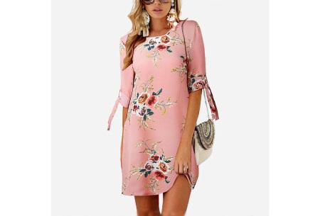 Luchtig tuniek | Perfecte zomerjurk voor dames met hippe bloemen- en panterprint #7