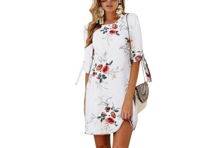 Luchtig tuniek | Perfecte zomerjurk voor dames met hippe bloemen- en panterprint #8