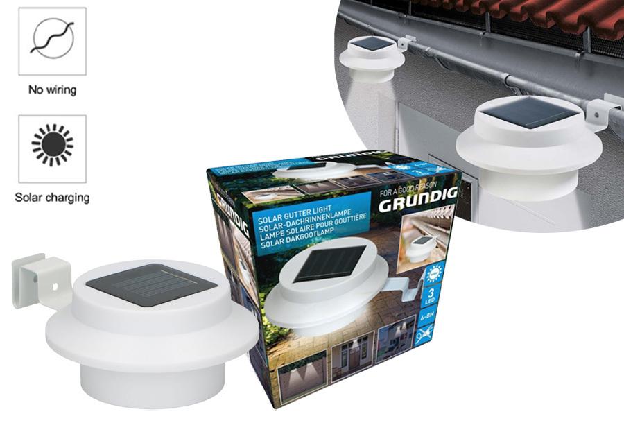 Grundig solar tuinverlichting