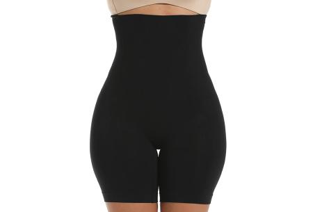 Shaper voor buik en benen | Onzichtbaar & corrigerend ondergoed voor onder jurken, broeken, T-shirts en meer Zwart