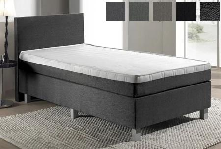 1-persoons boxspring | Luxe en comfortabel eenpersoonsbed
