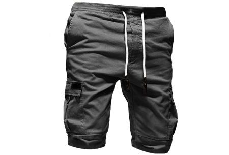Heren korte broek   Casual shorts voor de zomer - in 10 kleuren Grijs