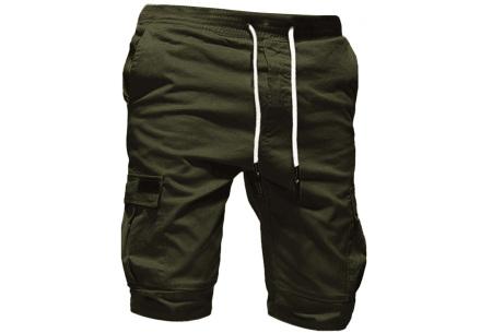 Heren korte broek   Casual shorts voor de zomer - in 10 kleuren Groen
