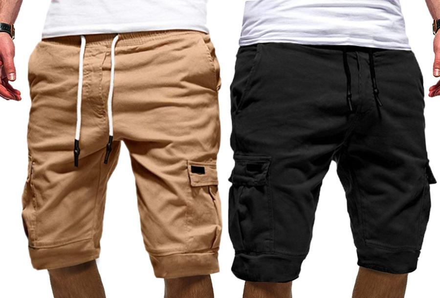 Heren korte broek met hoge korting