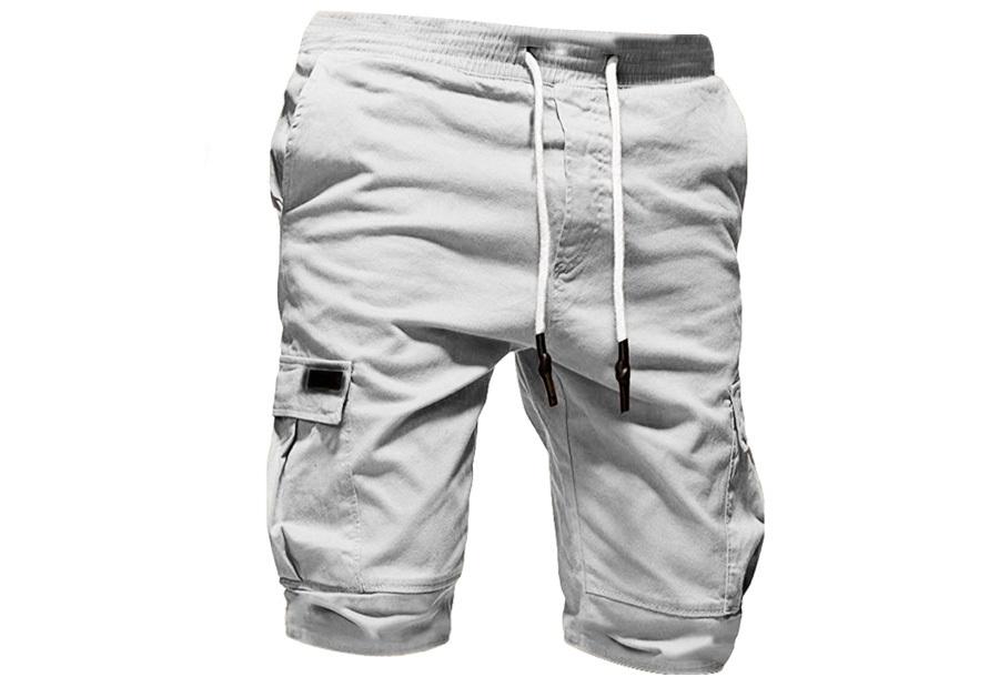 Korte broek heren - Maat S - Wit