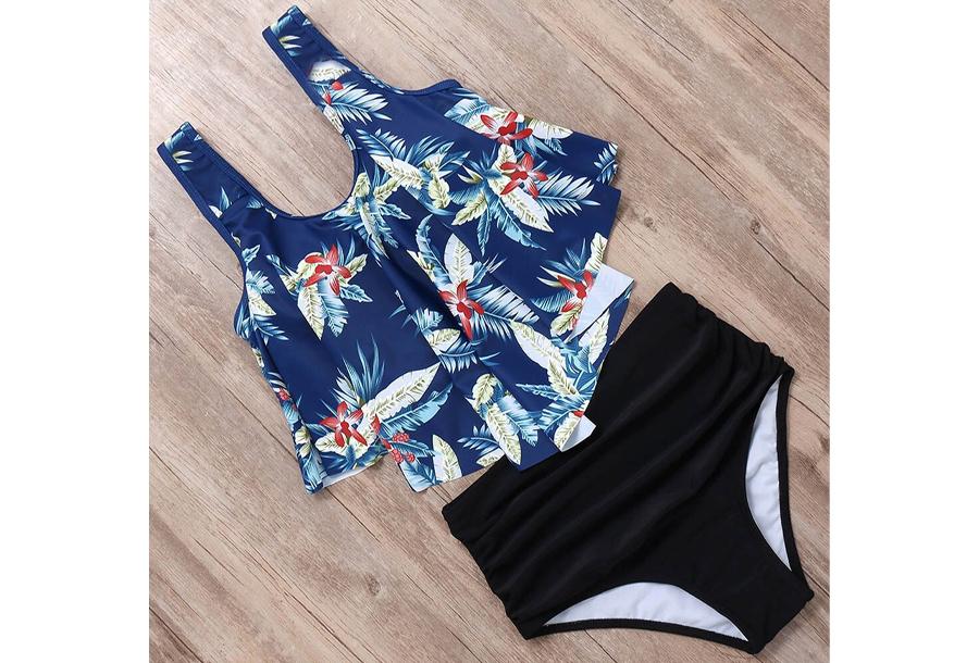 High waist bikini - Maat L - #C