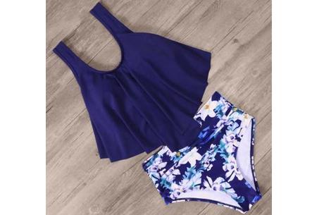 High waist bikini - Maat 2XL - #E