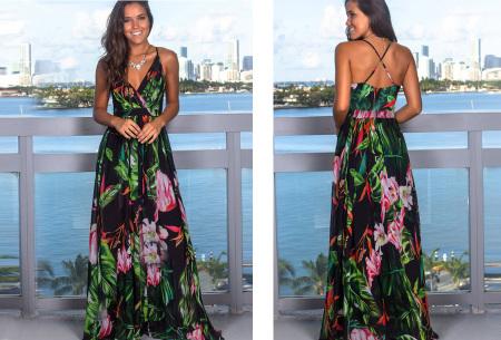 Maxi jurk   Lange jurk in 15 fleurige printjes #1