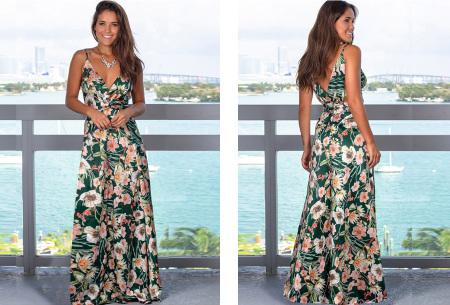 Maxi jurk   Lange jurk in 15 fleurige printjes #8