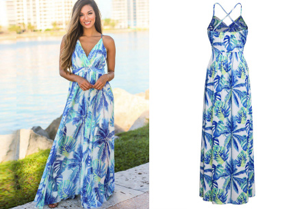 Maxi jurk   Lange jurk in 15 fleurige printjes #6
