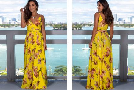 Maxi jurk   Lange jurk in 15 fleurige printjes #12