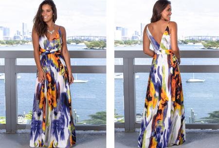 Maxi jurk   Lange jurk in 15 fleurige printjes #4