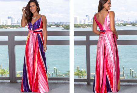 Maxi jurk   Lange jurk in 15 fleurige printjes #10