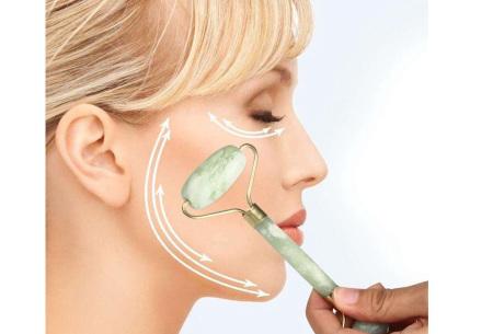 Jade roller | Gezichtsroller en Guasha steen voor een stralende huid