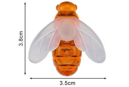 Solar led-lichtslinger met bloemen of bijen | Gezellige buitenlampen op zonne-energie