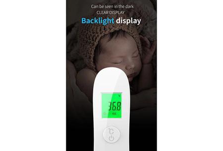 Infrarood thermometer met voorhoofdmeting | Accuraat, snel en hygiënisch