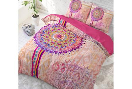 Katoenen dekbedovertrek van Dreamhouse | Kleurrijke dekbedhoezen in 6 printjes #5 Sofie multi