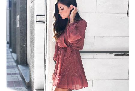 Playsuit jurkje | Hippe zomerjurk van luchtige blousestof