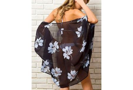 Kimono voor dames   Luchtig vestje voor over je badkleding - In 13 printjes #C