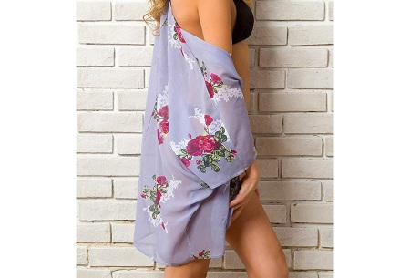 Kimono voor dames   Luchtig vestje voor over je badkleding - In 13 printjes #M
