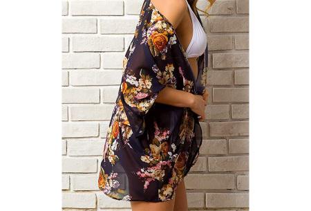 Kimono voor dames   Luchtig vestje voor over je badkleding - In 13 printjes #A