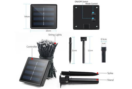 Solar LED tuinverlichting | Sfeervolle buitenlampen op zonne-energie