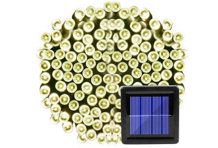 Solar LED tuinverlichting | Sfeervolle buitenlampen op zonne-energie Warm wit
